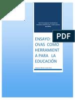 ENSAYO OVAS  COMO  HERRAMIENTA PARA   LA EDUCACIÓN.docx