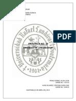 Práctica No. 10 Viscosidad y Densidad de Un Líquido Post-laboratorio