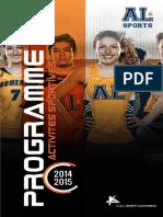 Guide Des Sports 2014-2015
