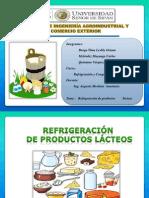 Refrigeración de Productos Lacteos