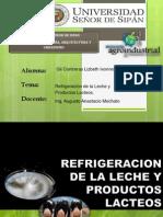 Refrigeracion de La Leche y Derivados, Expo.