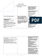 lesson plan assignment questions lesson portfolio edition