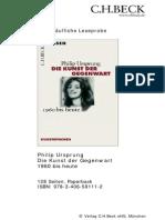 Leseprobe Die Kunst Der Gegenwart