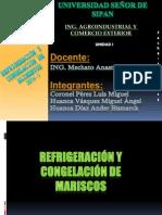 Refrigeracion y Congelacion de Mariscos