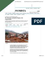 16-09-14 En Guerrero, pesquisas largas y sin responsables | El Economista