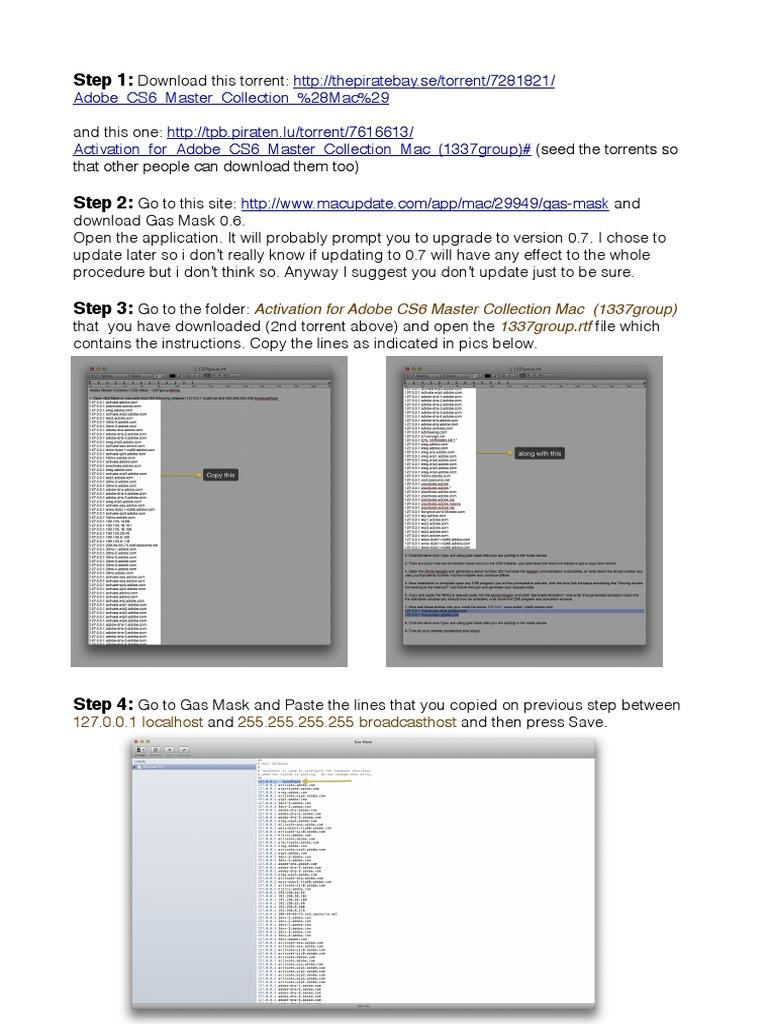 adobe cs6 master collection mac keygen xforce