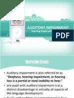 Auditory Impairment