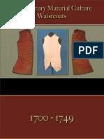 Male Dress - Waistcoats