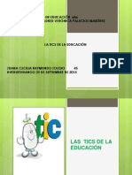 Presentación de Las Tics