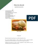 Pollo Al Sillao