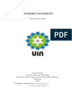 Sintesis Nanodot