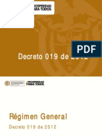 Dec 019 2012 Antitramites DAFP