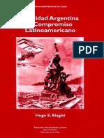 Identidad Argentina y Compromiso Latinoamericano