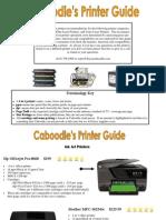 printer guide 2013-2