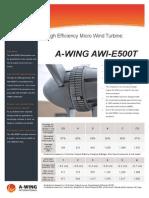 A Wing Awi e500t