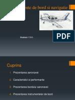Echipamente de Bord Si Navigatie Aeriana