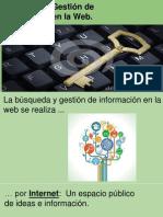 Búsqueda y Gestión de Información en La Web.