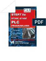 STEP7 ile S7300,S7400 PLC Programlama kitabı