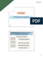 PCPII 2- Planejamento Agregado