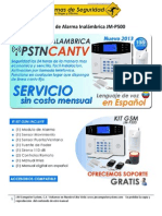 Manual - Alarma CANTV- JM-P500