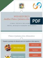Web Reforço Físico Química Dos Alimentos