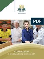 REC Curriculum Information Book 2015_web