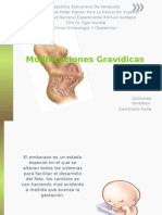 Modificaciones Gravídicas Obste
