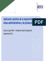 Aplicacion Practica de La Ergonomia en Las Areas Administrativas y de Produccion [Modo de Compatibilidad