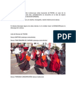 Danzas de Tacna