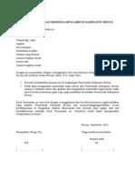 Surat Pernyataan Bersedia Mengabdi Di Kabupaten Mesuji