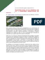 Fallas de Infraestructura en El Hospital de Maipú