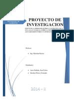 Avance Introduccion, Marco Teorico y Flujos - Problemas Especiales