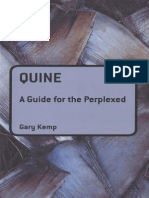 Quine. a Guide for the Perplexed - Kemp, Gary