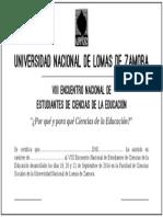 Certificado Enecse 2014