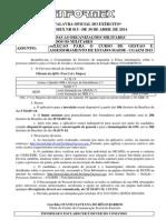 Informex Nº 015 - Seleção Para o Cgaem 2015