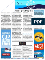 Cruise Weekly for Thu 25 Sep 2014 - Cruise boosts economy, Carnival Legend, Garden Island, Abu Dhabi and much more