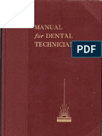 Manual for Dental Technicians