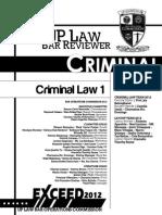 Criminal Law (Book 1)