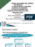 Secciones netas