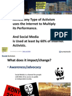 Social Activism at Social Media Week (Venezuela as Example)