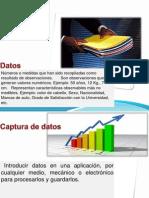 Organizacion y Captura de Datoss