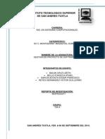 Reporte de Investigación - MOPROSOFT 5
