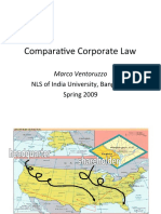 Comparative Corporate Law