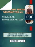 Universal Brotherhood Day