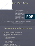 PROJECT ON WORLD TRADE
