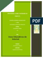 7. Usos Educativos de La Internet