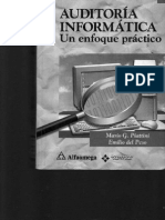 40302955 Auditoria Informatica Un Enfoque Practico Piattini