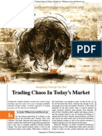 Justine Williams-Lara and Marcus Lara - Trading Chaos in Today's Market (Article S&C)
