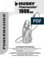 Husky 1800 Electric Pressure Washer