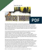 Materi Tarbiyah Urgensi Syahadat